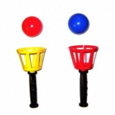 Игра Поймай мячик для двоих