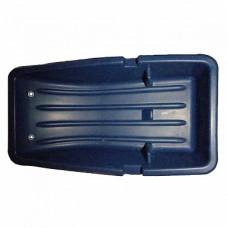 Сани рыбацкие (830*450*220) с выемками для бура и ограничителями для ящика