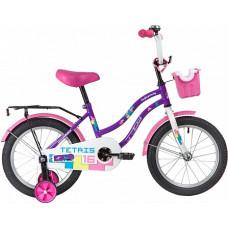 """Велосипед 16"""" TETRIS поддерж.колеса"""