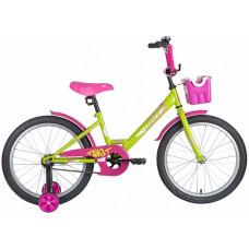 "Велосипед 20"" TWIST поддерж.колеса"