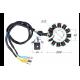 Генератор TTR-250R 166FMM/157FMI/162FMJ (CG/CB) (12 кат.) (3 отверстия)