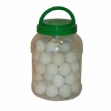 Пинг-понг мяч Ronin 2 зв. (белый/желтый)