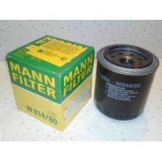 Фильтр масляный MANN W814/80
