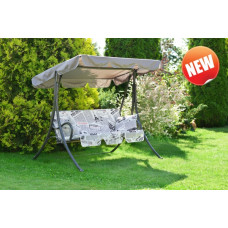 "Качели садовые ""Мартинелла"" с подушками (1708х1240х1525 мм)"