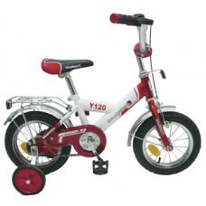 """Велосипед 12"""" VECTOR Х44861 зеленый+поддерж.колеса + родительская ручка"""