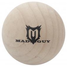 Мяч хоккейный MAD GUY деревянный