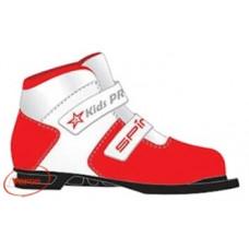 Ботинки лыжные SPINE Kids Pro синт. (NN75) на липе RED