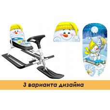 """Снегокат """"Comfort Снеговик"""" со складной спинкой"""