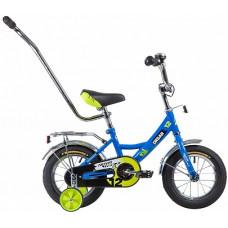 """Велосипед 12"""" URBAN поддерж.колеса + родительская ручка"""