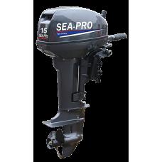 Лодочный мотор 2-х тактный SEA-PRO Т15 (S)