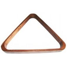 Треугольник для бильярд.шаров 57мм деревянный
