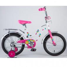 """Велосипед 14"""" TETRIS поддерж. колеса"""