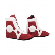 Самбовки (обувь для самбо) Rusco RS001/2 (замша, красный)